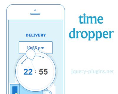 timedropper – jQuery Timepicker Plugin