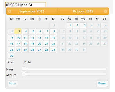 Adding a Timepicker to jQuery UI Datepicker