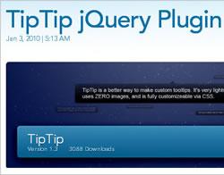 TipTip - ToolTip jQuery Plugin