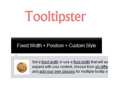 Tooltipster – jQuery Tooltip Plugin