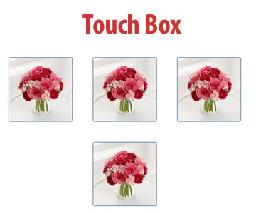 Touch Box – jQuery Plugin for Resize, Drag & Rotate Features of iPad