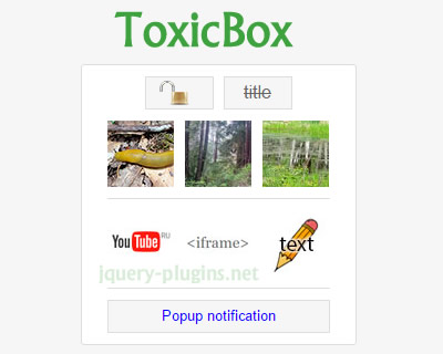 ToxicBox – Free jQuery Lightbox Plugin