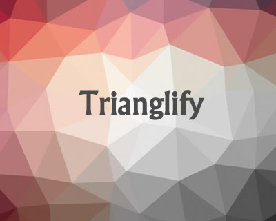 Trianglify – Javascript Library for Colorful Triangle Meshes