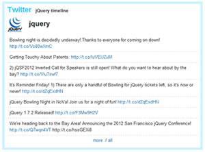 Twit - Display Twitter Tweets on a Blog