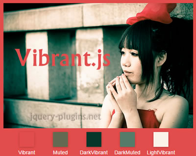 Vibrant.js – Javascript Library to Extract Prominent Colors of Image