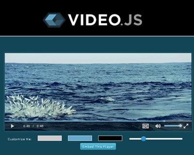 Video.js – Open Source HTML5 Video Player