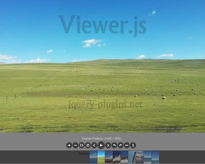 Viewer.js – JavaScript Image Viewer