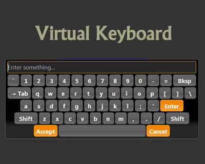 Virtual Keyboard Plugin Using jQuery UI