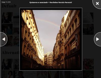 Visage – Lightbox Like jQuery Image Gallery Plugin