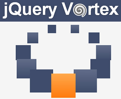 Vortex – jQuery Plugin to Display HTML Elements Elliptically