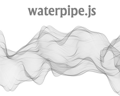 Waterpipe.js – Smoky Backgrounds Generator