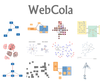 WebCola – Javascript Constraint-Based Graph Layout