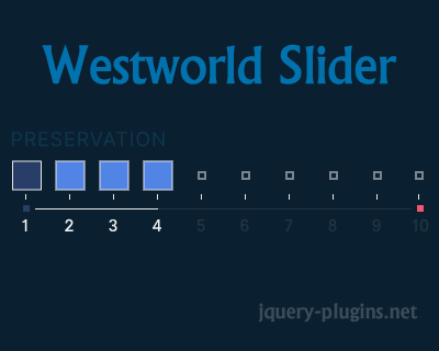 Westworld Slider – Creative Slider with SVG and Javascript