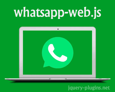 whatsapp-web.js – WhatsApp Client Library for NodeJS
