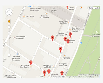 WhatsNearby – List Nearby Places using Google Maps