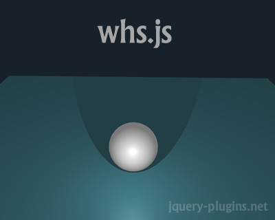 whs.js – Super Fast 3D Framework for Web Applications & Games