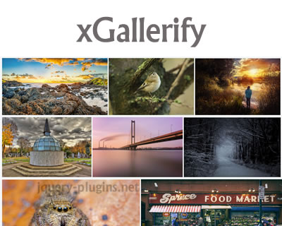xGallerify – Lightweight and Responsive Gallery with jQuery