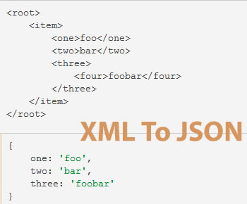 XML-to-JSON Convertor and Remapper jQuery Plugin