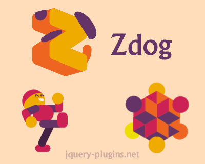 Zdog – Round, Flat, Designer-Friendly Pseudo-3D Engine