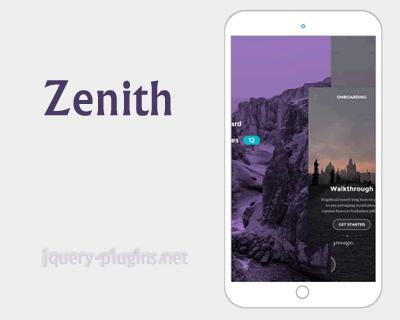 Zenith – Responsive Slider jQuery Plugin