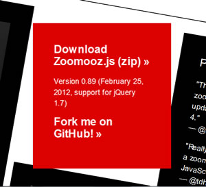 Zoomooz.js - jQuery Zoom Plugin for Web Page Elements