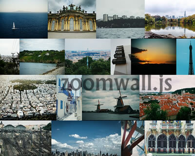 zoomwall.js – Photo Gallery with Masonry Layout