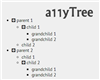 a11yTree – Lightweight jQuery Tree Plugin