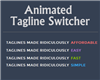 Animated Tagline Switcher