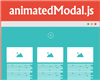 animatedModal.js – jQuery Plugin for Fullscreen Modal with CSS3