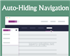 Auto-Hiding Navigation with CSS and jQuery