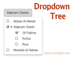Dropdown Tree – Dynamic Dropdown Menu with jQuery and Bootstrap