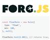 ForgJs – Lightweight Javascript Object Validator