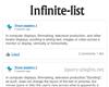 InfiniteList – Infinite List in Javascript