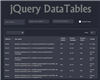jQuery DataTables – Sort, Page, and Filter Millions of Records