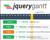 jQuery-gantt – Lightweight jQuery Gantt Plugin