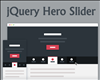 jQuery Hero Slider