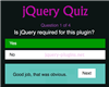 jQuery Quiz Plugin