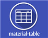 material-table – Material Datatable for React with Additional Features