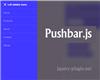 Pushbar.js – JavaScript Plugin for Creating Sliding Drawers