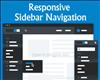 Responsive Sidebar Navigation