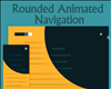 Rounded Animated Navigation with CSS and jQuery