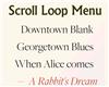 Scroll Loop Menu – An Infinitely Scrollable Vertical Menu