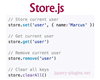 Store.js – Cross  Browser Storage for All Use Cases