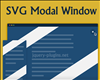 SVG Modal Window with Javascript