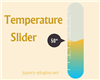 Temperature Slider with SVG, CSS and Javascript
