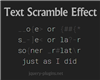 Text Scramble Effect with Javascript