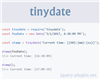tinydate – Fast and Tiny Reusable Date Formatter