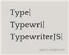 TypewriterJS – Javascript Plugin for Cool Typewriter Effect