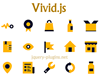 Vivid.js – Easily Customize and Use SVG Icons