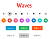 Waves – Click Effect Insipired by Google Material Design